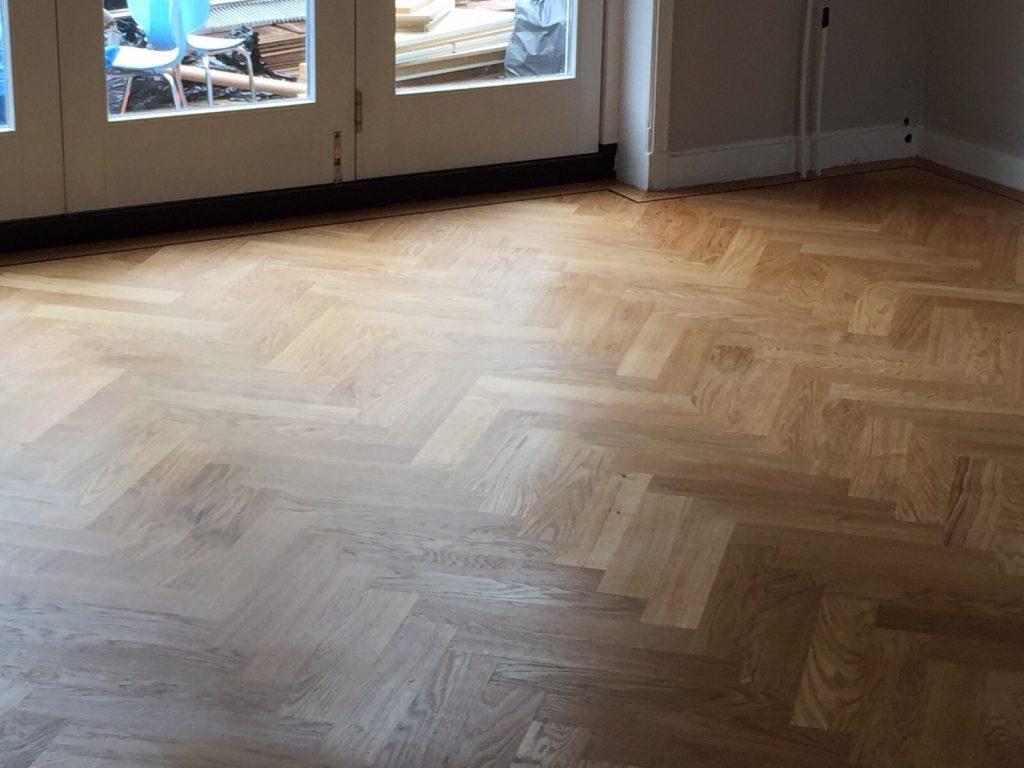 Het leggen van parket op vloerverwarming terra antica vloeren